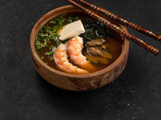Мисо суп с креветкой в Рокет Ролл